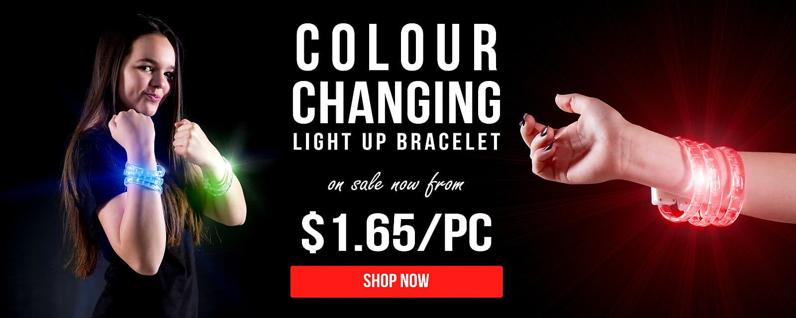 Colour Changing Light Up Bracelet